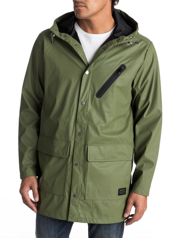 0 Travers Deep - Long Rain Jacket  EQYJK03309 Quiksilver