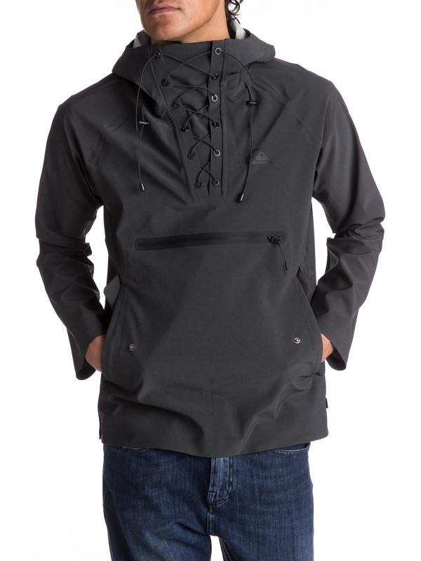 0 Mokoreta Water-Repellent Technical Pullover Jacket  EQYJK03357 Quiksilver
