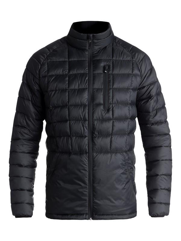 0 Release Waterproof Zip-Up Jacket Black EQYJK03400 Quiksilver