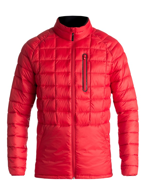 0 Release - Waterproof Zip-Up Jacket for Men Red EQYJK03400 Quiksilver