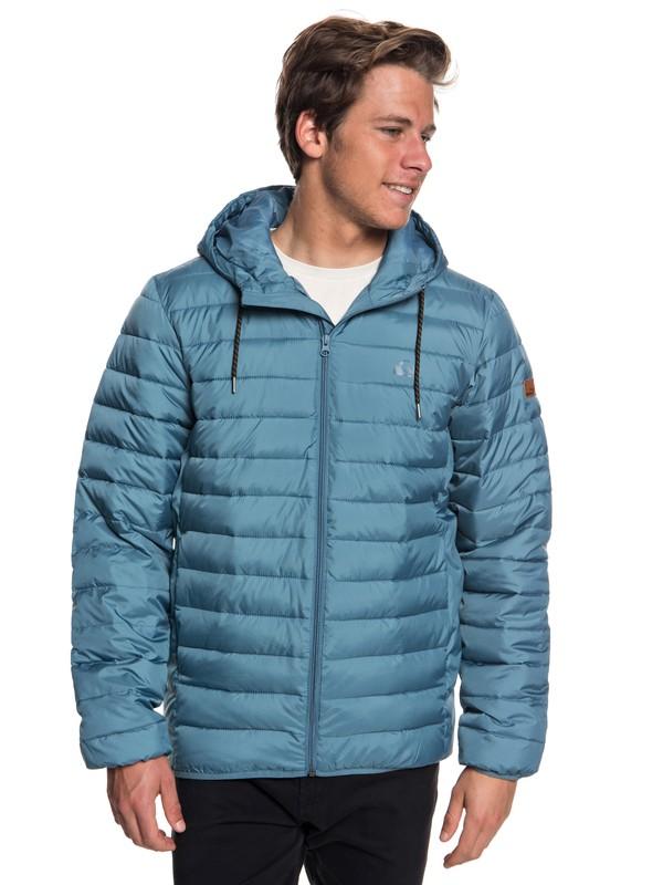 0 Куртка Scaly Синий EQYJK03418 Quiksilver