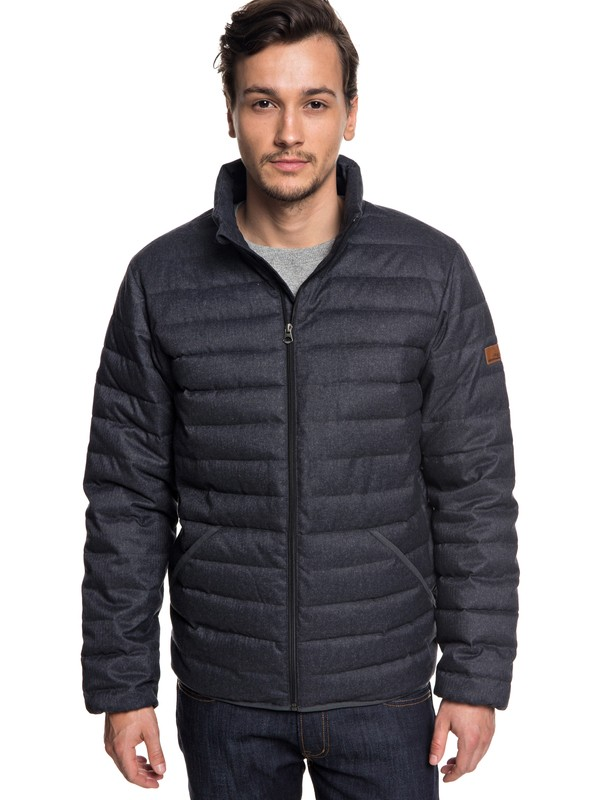 0 Scaly - Puffer Jacket for Men Black EQYJK03422 Quiksilver