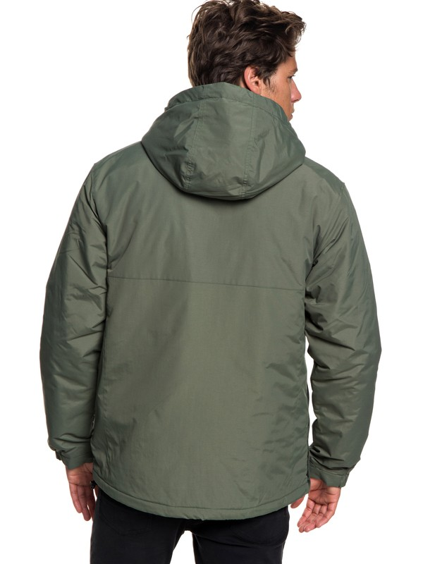 Tazawa - Water-Resistant Hooded Anorak for Men  EQYJK03432