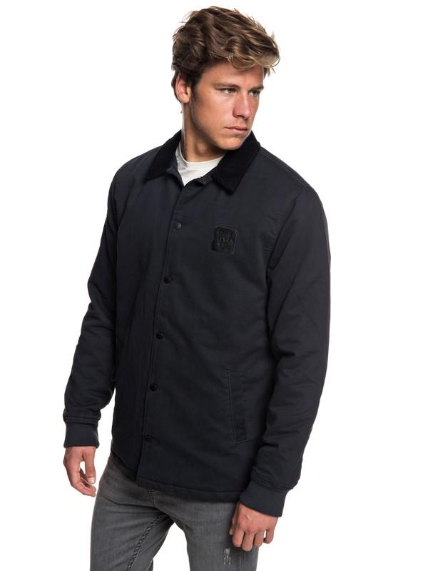 0 Kofuji Water Resistant Coaches Jacket Black EQYJK03435 Quiksilver
