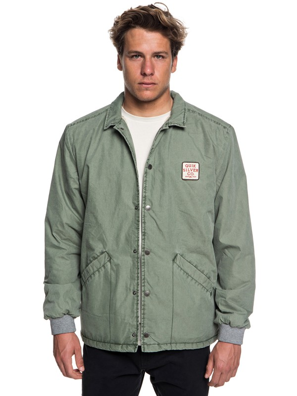 Kaimon - Sherpa Lined Coaches Jacket for Men  EQYJK03439