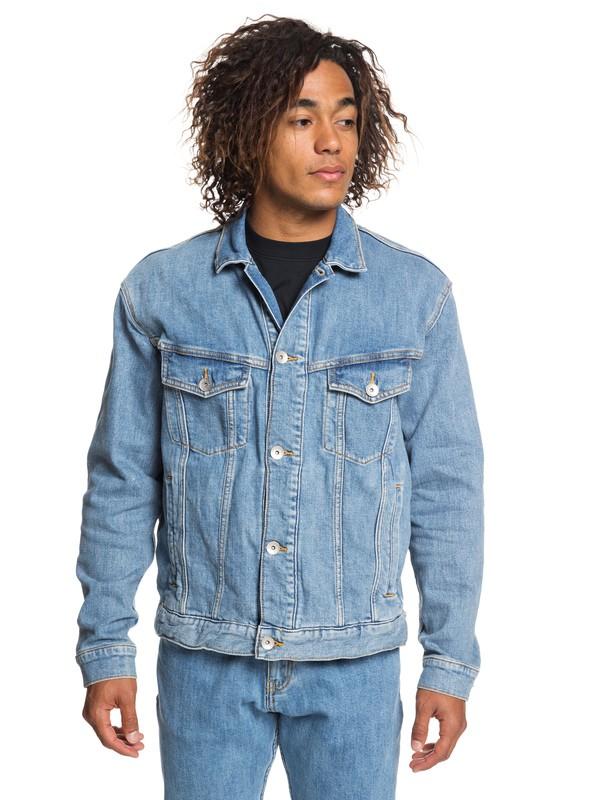 0 Originals Denim Jacket Blue EQYJK03466 Quiksilver