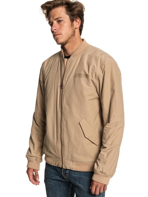 0 Rock It - Bomber Jacket for Men Brown EQYJK03468 Quiksilver