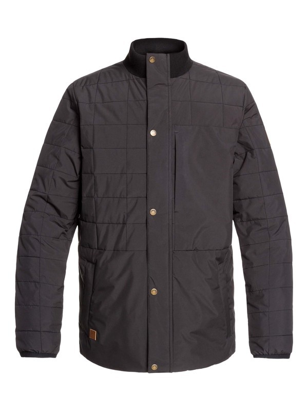 0 Cruiser Water-Resistant Insulated Jacket Black EQYJK03478 Quiksilver