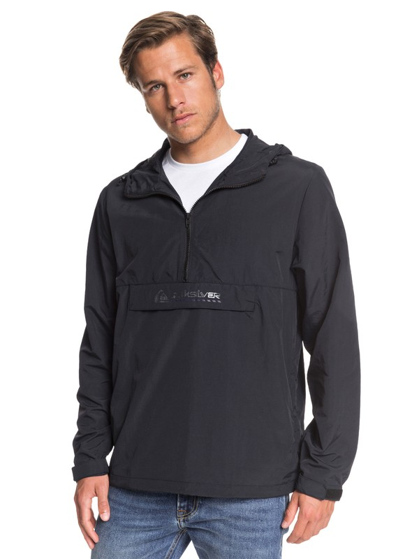 0 The St Comp Water-Repellent Anorak Black EQYJK03485 Quiksilver