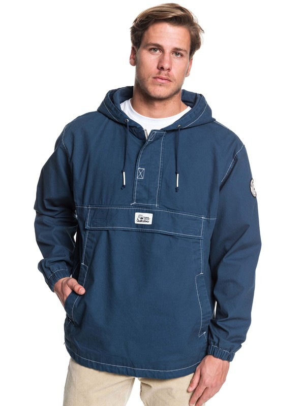0 Tazawa Wash Hooded Anorak Blue EQYJK03511 Quiksilver
