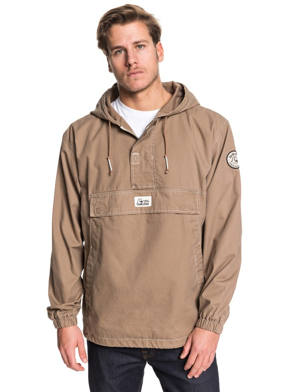 0 Tazawa Wash Hooded Anorak Grey EQYJK03511 Quiksilver