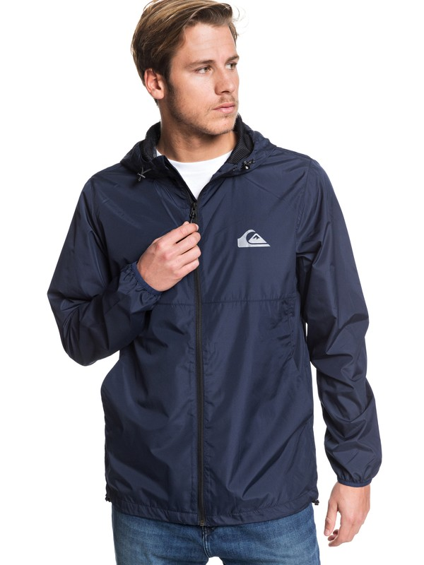 0 Everyday Hooded Windbreaker Blue EQYJK03521 Quiksilver