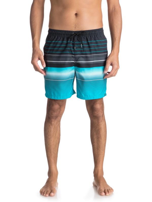 "0 Swell Vision 17"" - Swim Shorts for Men Black EQYJV03305 Quiksilver"