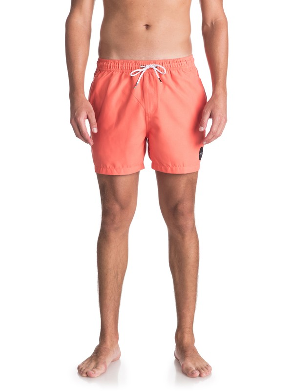 "0 Everyday 15"" - Swim Shorts for Men Orange EQYJV03318 Quiksilver"