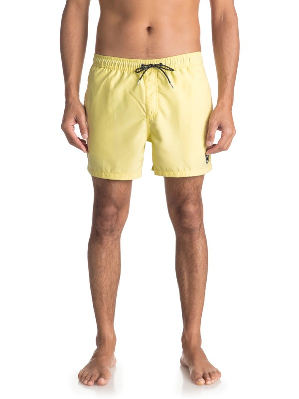"0 Everyday 15"" Swim Shorts Yellow EQYJV03318 Quiksilver"