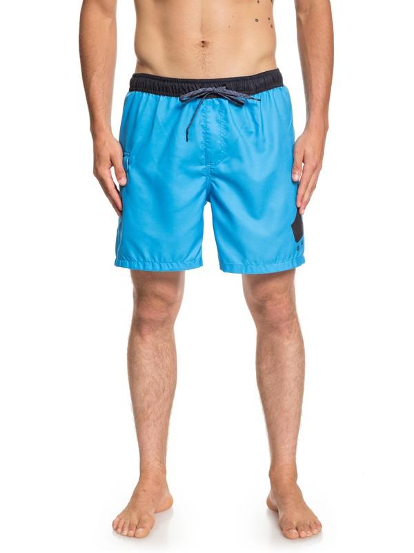 "0 Critical 17"" - Swim Shorts for Men Blue EQYJV03404 Quiksilver"