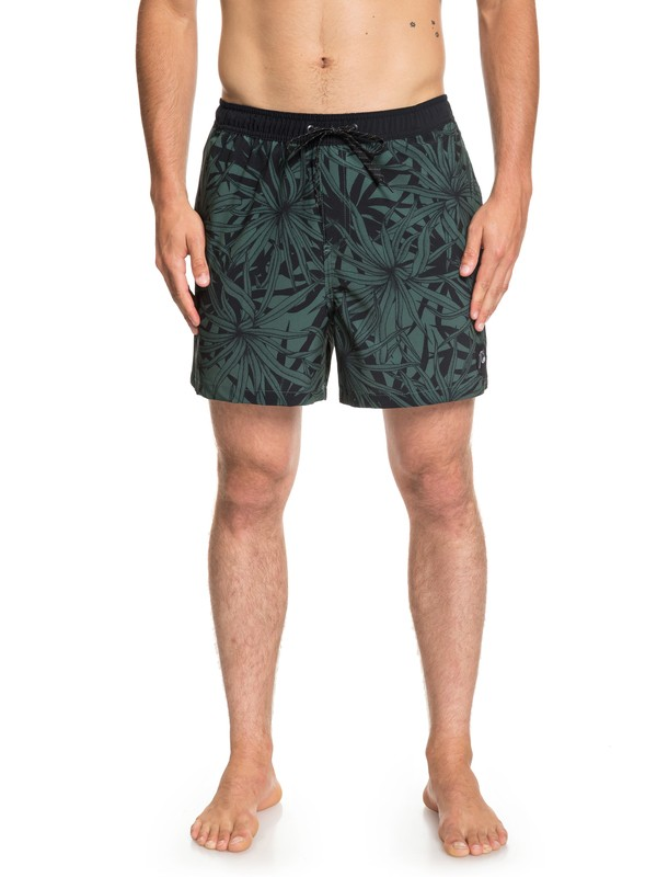 "0 Pandana Stretch 16"" Swim Shorts Green EQYJV03408 Quiksilver"