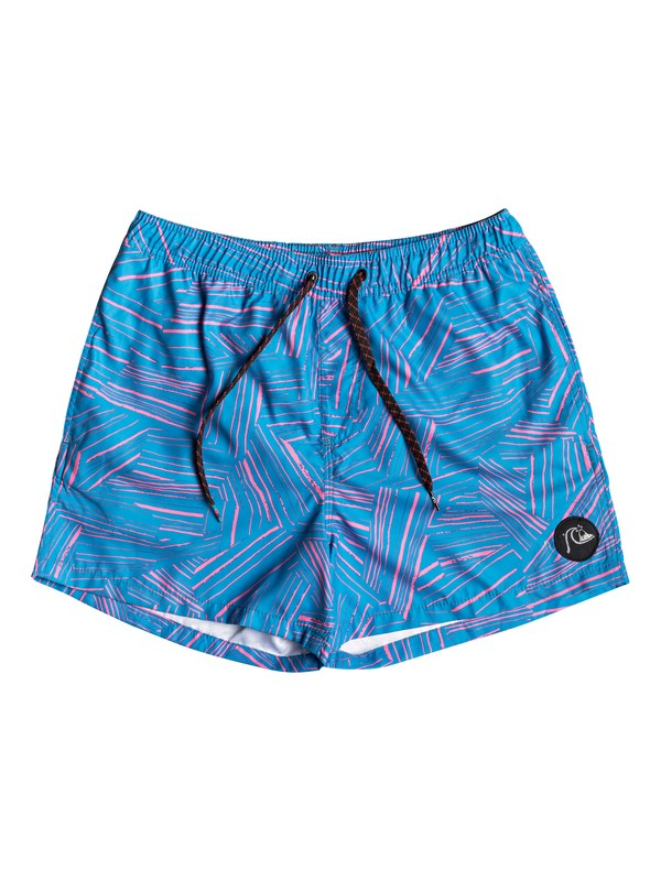"0 Boardshorts para Volley Bambú Break 17"" Azul EQYJV03445 Quiksilver"