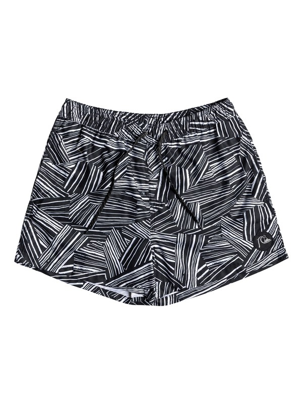 "0 Boardshorts para Volley Bambú Break 17"" Negro EQYJV03445 Quiksilver"