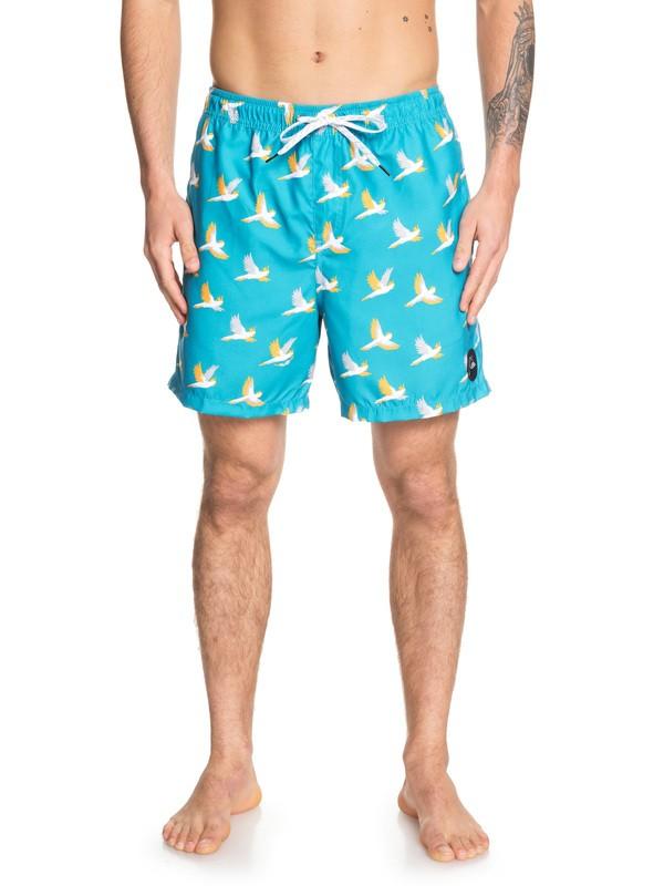 """0 Shorts para Nadar - Cockatoo de 17"""" Azul EQYJV03446 Quiksilver"""