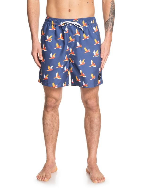 "0 Cockatoo 17"" Swim Shorts Blue EQYJV03446 Quiksilver"