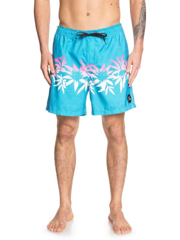 "0 Voodoo 17"" Swim Shorts Blue EQYJV03449 Quiksilver"