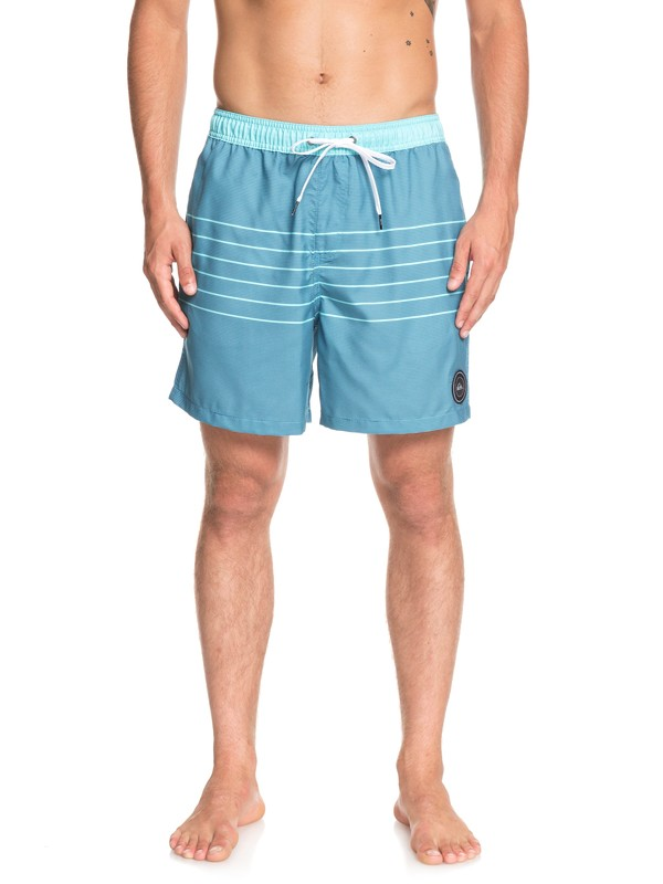"0 Fineline 17"" Swim Shorts Blue EQYJV03450 Quiksilver"