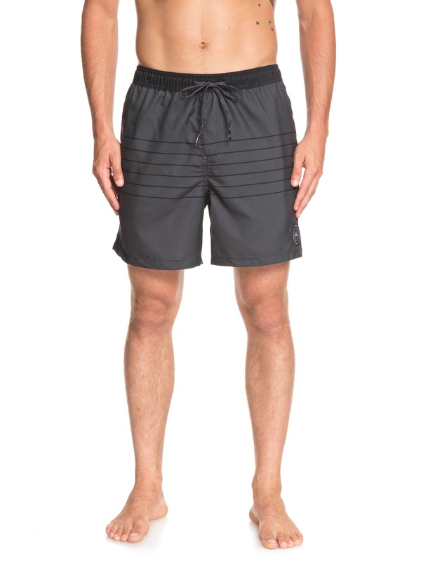 "0 Fineline 17"" Swim Shorts Black EQYJV03450 Quiksilver"