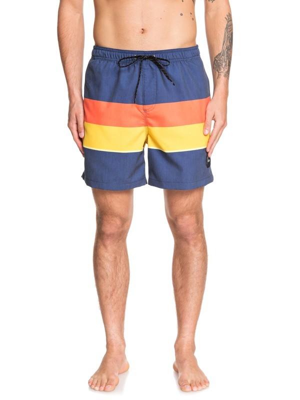 "0 Seasons 17"" - Swim Shorts Blue EQYJV03479 Quiksilver"