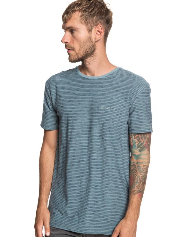0 Ken Tin - Camiseta para Hombre Azul EQYKT03687 Quiksilver