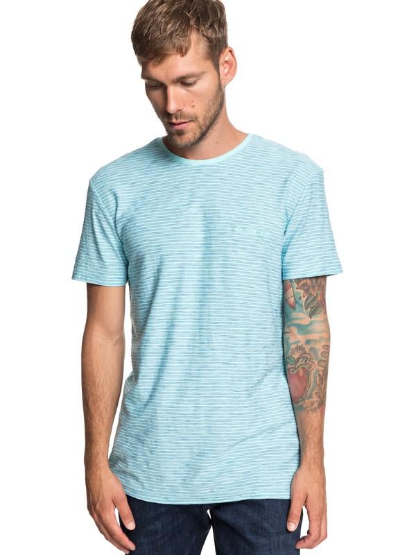 0 Ken Tin - T-Shirt for Men Blue EQYKT03687 Quiksilver