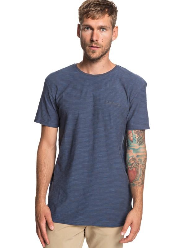 0 Ken Tin - Camiseta para Hombre Negro EQYKT03687 Quiksilver