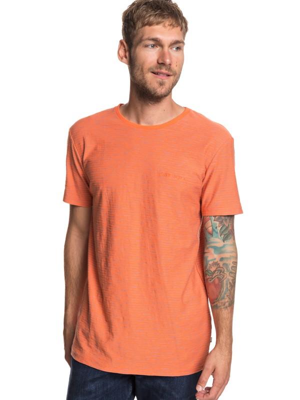 0 Ken Tin - Camiseta para Hombre Naranja EQYKT03687 Quiksilver
