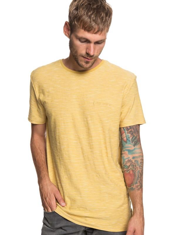0 Camiseta Ken Tin Amarillo EQYKT03687 Quiksilver