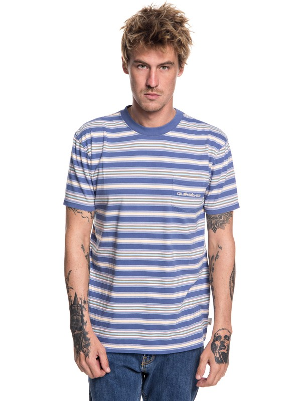 0 Slide Out Tee Blue EQYKT03752 Quiksilver