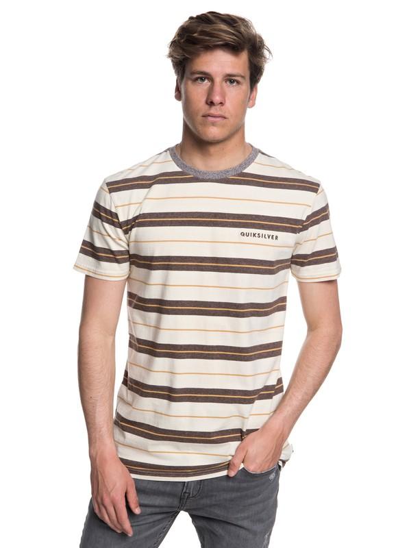 0 Dera Steps - T-shirt col rond pour Homme Marron EQYKT03753 Quiksilver