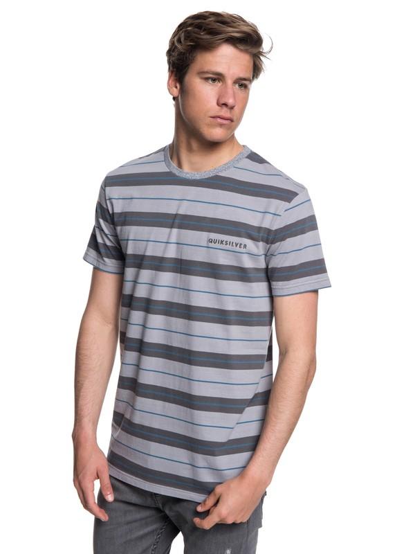 0 Dera Steps - Camiseta para Hombre Negro EQYKT03753 Quiksilver