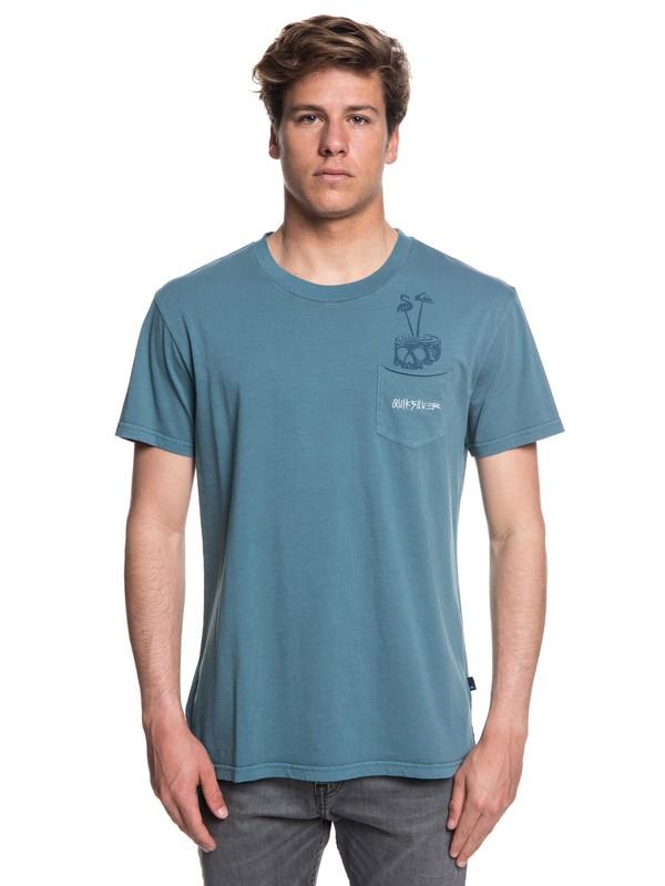 0 Skumel - Camiseta para Hombre Azul EQYKT03760 Quiksilver