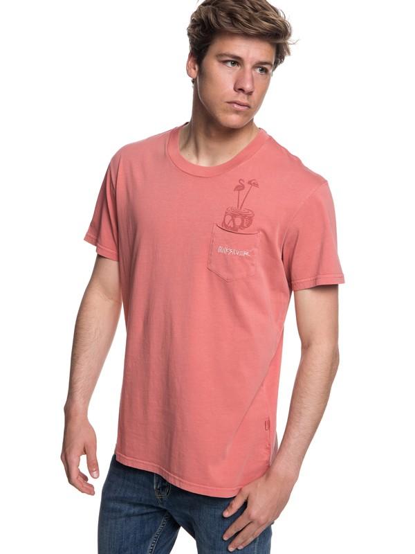0 Skumel - Camiseta para Hombre Rosa EQYKT03760 Quiksilver