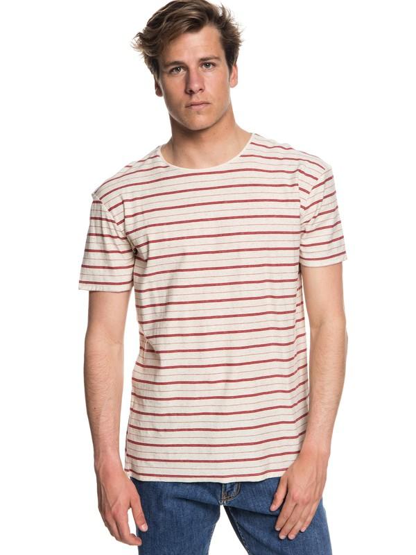 0 Sunshine City - Camiseta para Hombre Rojo EQYKT03767 Quiksilver