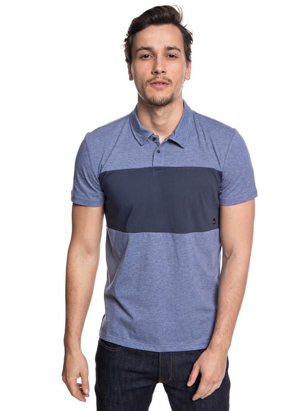 0 Kuju - Funktionelles, kurzärmliges Polo-Hemd für Männer Blau EQYKT03770 Quiksilver