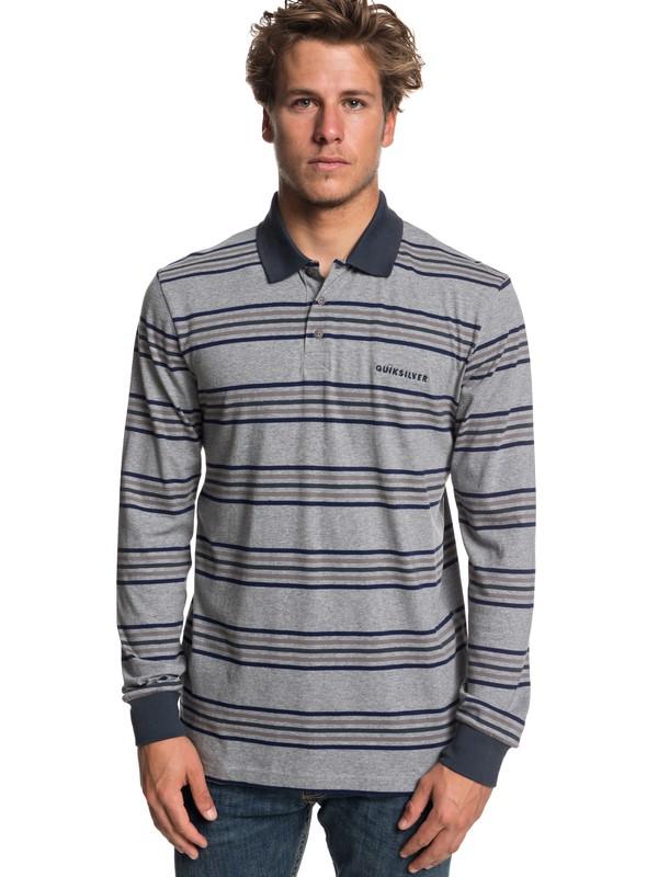 0 Fushimi Gate Long Sleeve Polo Shirt  EQYKT03807 Quiksilver