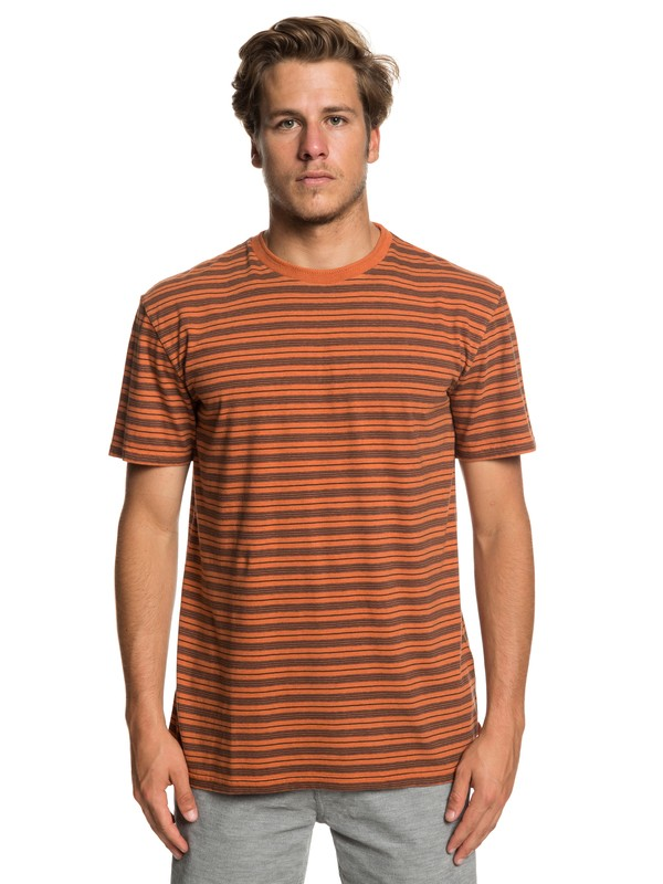 0 Deeper States - T-Shirt for Men Orange EQYKT03833 Quiksilver