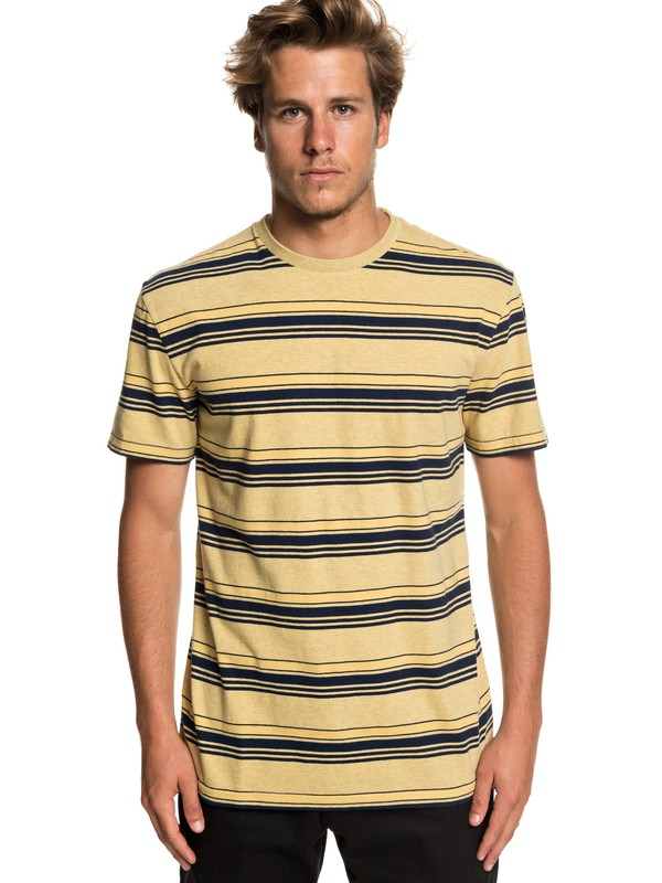 0 Deeper States Tee Yellow EQYKT03833 Quiksilver