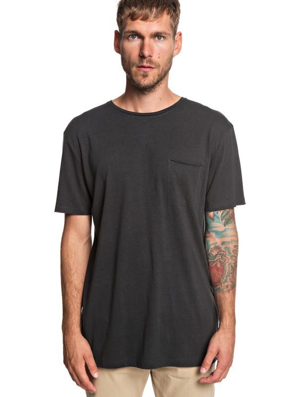 0 The Organic - Pocket T-Shirt for Men Black EQYKT03836 Quiksilver