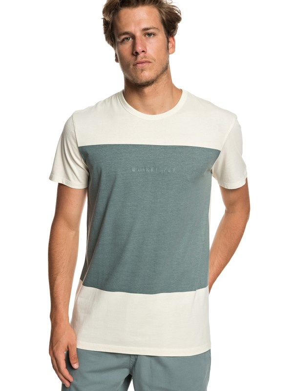 0 Vida Voice - T-Shirt for Men Blue EQYKT03840 Quiksilver