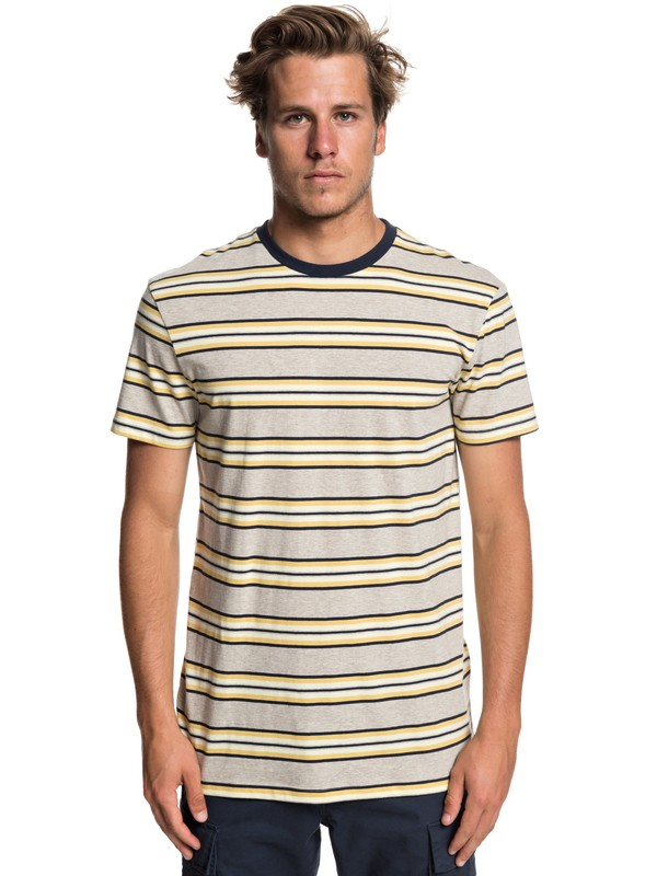 0 Bim Slaka Bim - T-shirt pour Homme Bleu EQYKT03842 Quiksilver