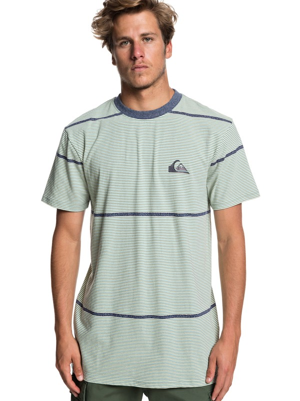 0 Stop It Cold - T-Shirt for Men Blue EQYKT03855 Quiksilver
