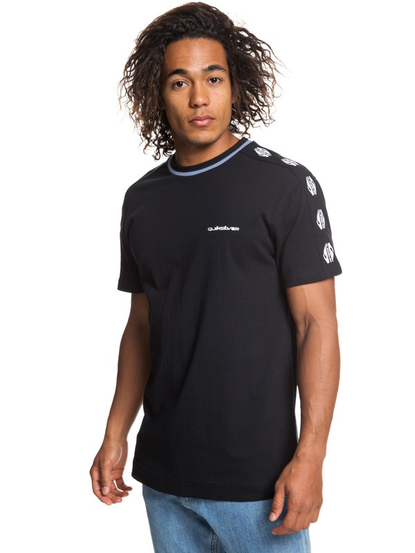 0 Originals - Camiseta para Hombre Negro EQYKT03860 Quiksilver