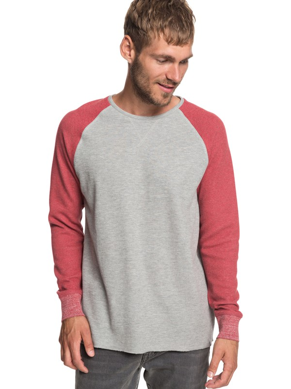 0 Hakone Summer - Sweatshirt for Men Grey EQYKT03865 Quiksilver